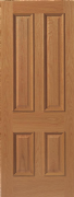 JB Kind E14M Oak (Finished) Door